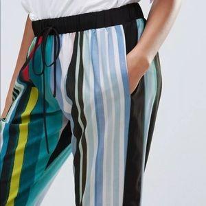 Clover Canyon Pants - Clover Canyon Women Striped Eclipse Pants Size XS